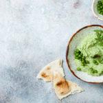 pea and ricotta spread